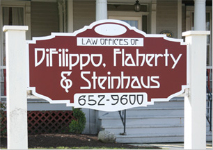 Law Offices of DiFilippo, Flaherty & Steinhaus | 652-9600